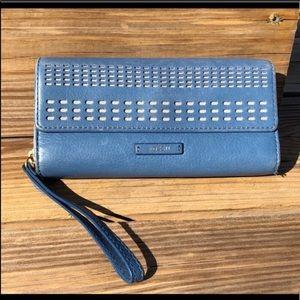 🍂 fossil wallet wristlet